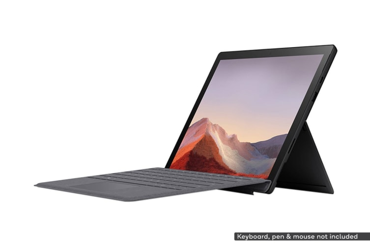 Microsoft Surface Pro 7 (i7, 16GB RAM, 256GB SSD, Black) - AU/NZ Model
