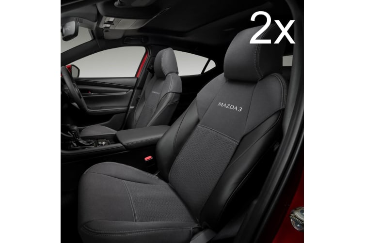 2x New Genuine Mazda 3 BP Front Seat Cover 2019 Accessory Part BP11ACSCF