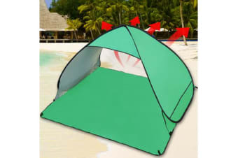 Pop Up Portable Beach Canopy Sun Shade Shelter - GREEN