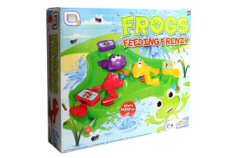 Frogs Feeding Frenzy Game