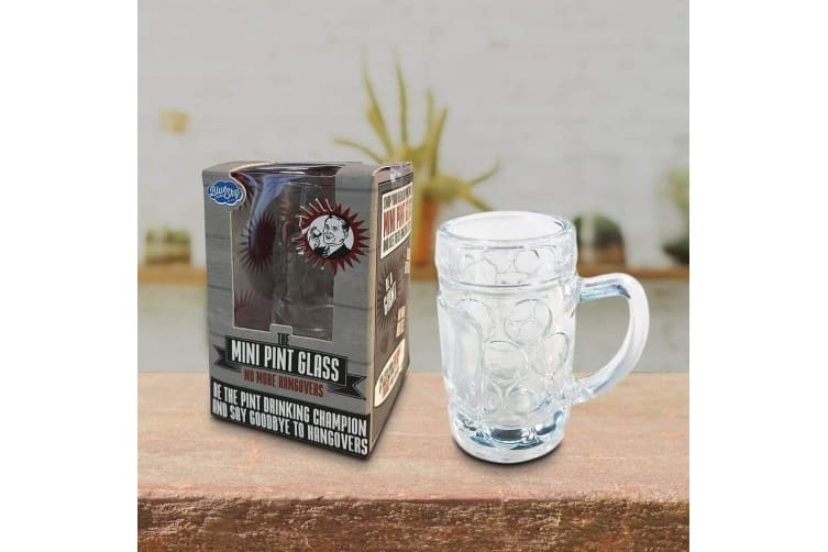 Novelty Miniature Beer Pint Glass Holds 40mls!