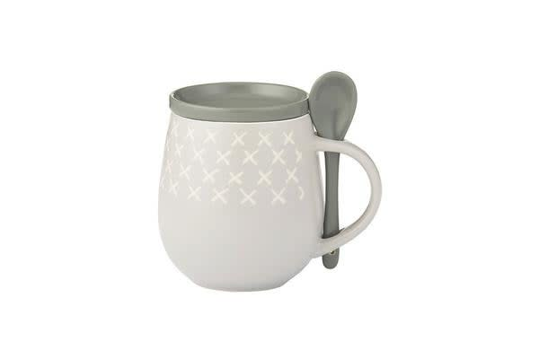 Davis & Waddell Ritual Mug Set 3pc Grey
