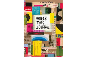 Wreck This Journal - Now in Colour