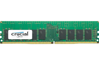Micron Crucial 8GB DDR4 2400 MT/s (PC4-19200) CL17 DR x8 ECC Registered DIMM