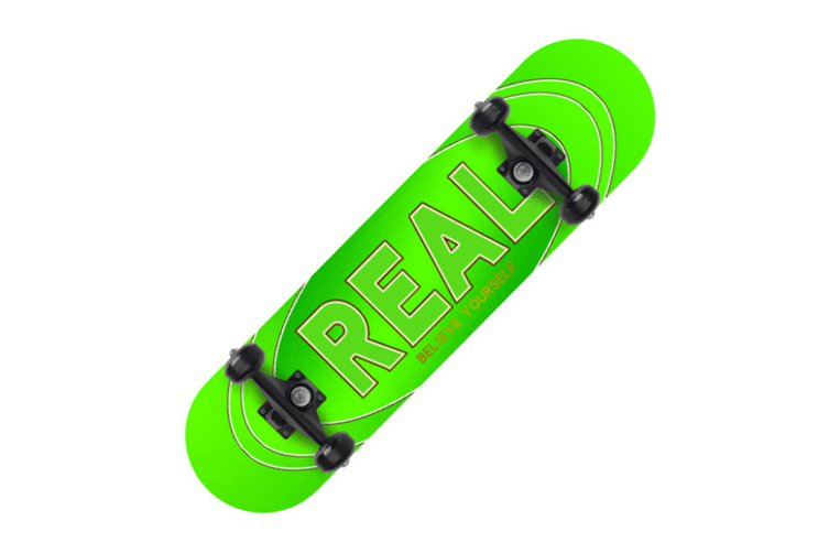WJS 31-inch professional Complete 7 Ply maple 4-wheel skateboard for Beginner Boys and Girls-7