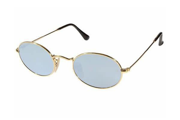 Ray-Ban RB3547N - Gold (Silver Mirror lens) / 51--21--145 Unisex Sunglasses