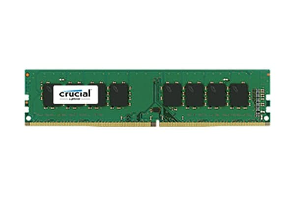 Crucial 8GB DDR4 2400 MT/s (PC4-19200) CL17 DR x8 Unbuffered DIMM 288pin