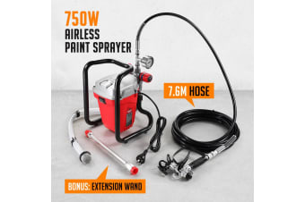 Airless Paint Sprayer with 7.6m Hose 750W