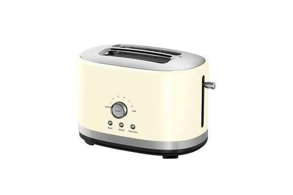 KitchenAid 2 Slice Toaster Almond Cream