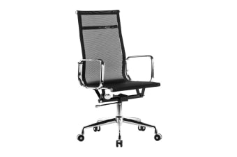 Ergolux Eames Replica High Back Mesh Office Chair - Executive Collection (Black)