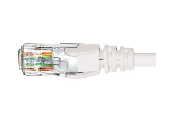 Cabac 5m CAT5 RJ45 LAN Ethenet Network White Patch Lead
