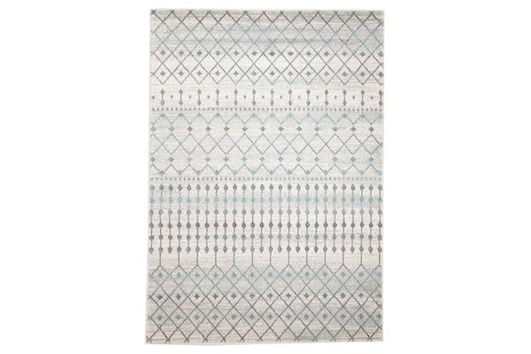 Slate White Transitional Rug 230x160cm