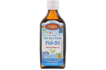 Carlson Labs Kid's Norwegian - The Very Finest Fish Oil Natural Orange Flavour - 200ml