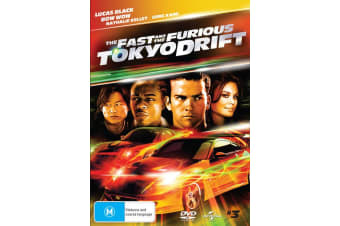 The Fast and the Furious Tokyo Drift DVD Region 4