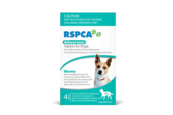 RSPCA Allwormer Tablets for Small Dogs