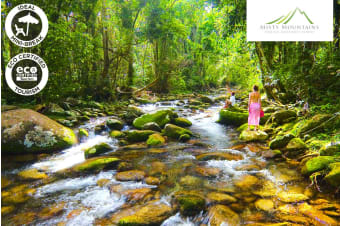 QUEENSLAND: 5 Nights at Misty Mountains Rainforest Retreat for Two