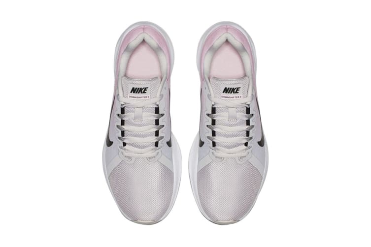 Nike Women's Downshifter 8 (Grey/Pink, Size 10 US)