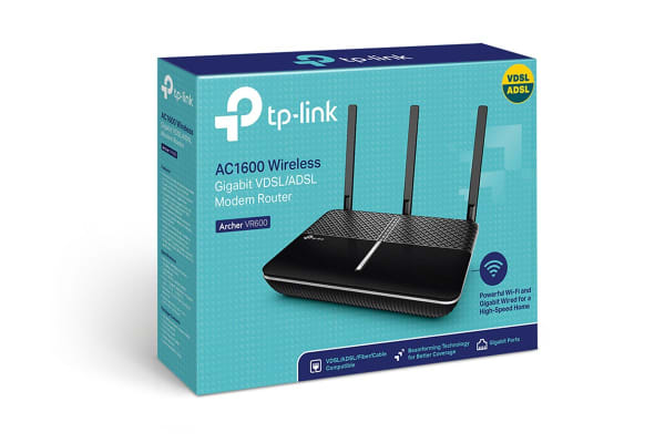 TP-Link Archer AC1600 Wireless Gigabit VDSL/ADSL Modem Router (TD-ARCHERVR600)