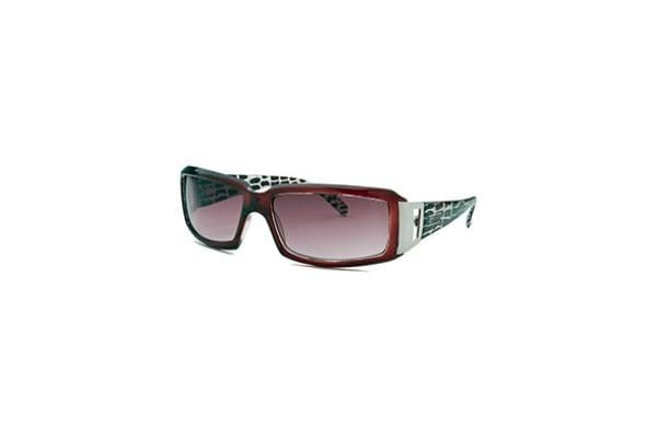 Kenneth Cole Reaction Women's Rectangle Red Sunglasses (KCR1059-0K55)