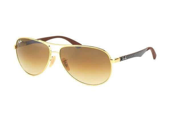 Ray-Ban RB8313 - Arista Crystal (Brown Gradient lens) / 58--13--140 Unisex Sunglasses