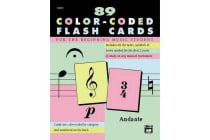 Complete Color Coded Flash Cards - For All Beginning Music Students