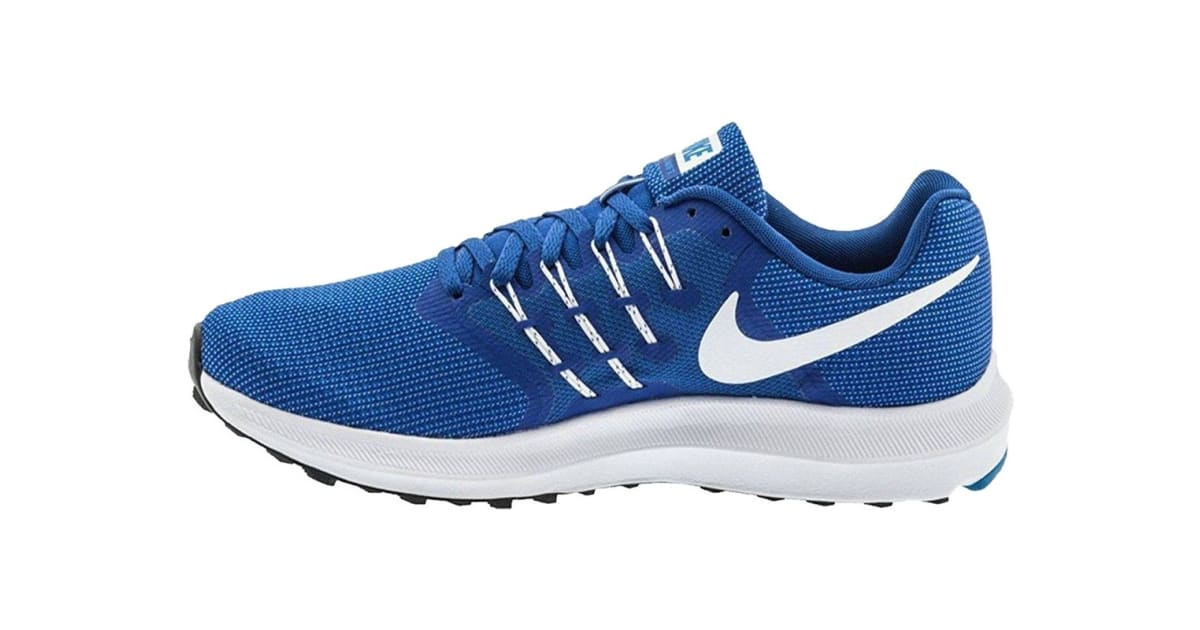 af3a4eb0 Nike Men's Run Swift Shoes (Wolf Blue/White/Blue Jay, Size 8 US) | Shoes