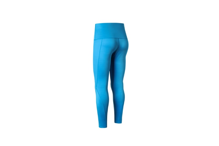 High Waist Yoga Pants With Pockets,Tummy Control,Workout Pants For Women - Blue Blue XL
