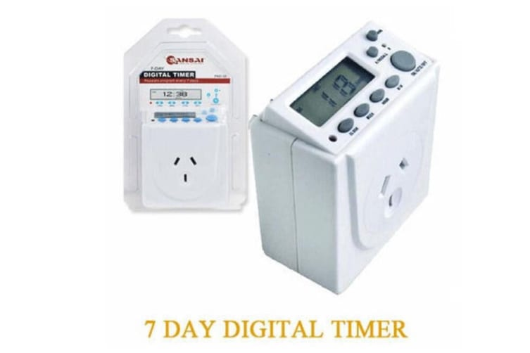 7 Days Digital Timer Switch 220V Automation Electric Programmable For Powerpoint