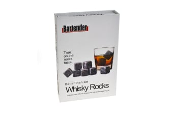 Whiskey Stones Gift Boxed Set Of 9