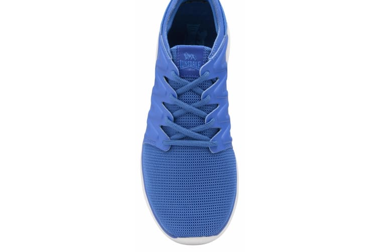 Lonsdale Mens Peru Lace Up Trainers (Blue) (11 UK)