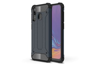 Case Flexible Soft Anti Slip TPU Cover For Samsung Galaxy A30-Gunmetal