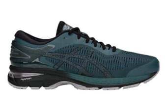 ASICS Men's Gel-Kayano 25 Running Shoe (Iron Clad/Black, Size 10)