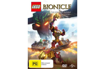 LEGO Bionicle The Journey to One Season 1 Volume 1 DVD Region 4