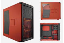 Corsair 230T Window Orange/Black Racing Inspired Mid-Tower Case 3x 120mm Fan 7x PCI Slots