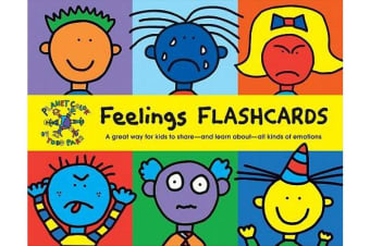 Todd Parr Feelings Flash Cards