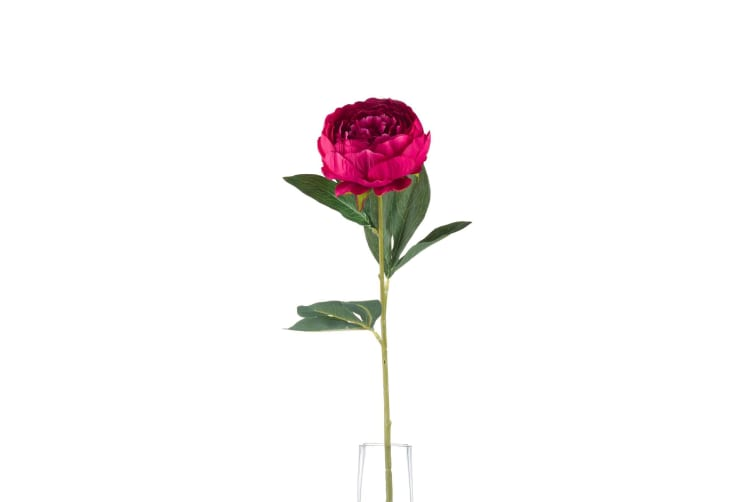Hill Interiors Artificial Peony (Cerise) (One Size)