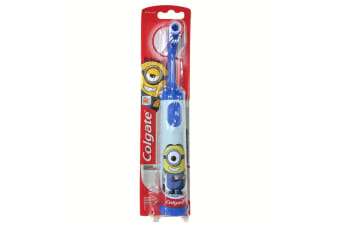 Colgate Kids Battery Powered Toothbrush Extra Soft Bristles Minion 3y+ Assorted