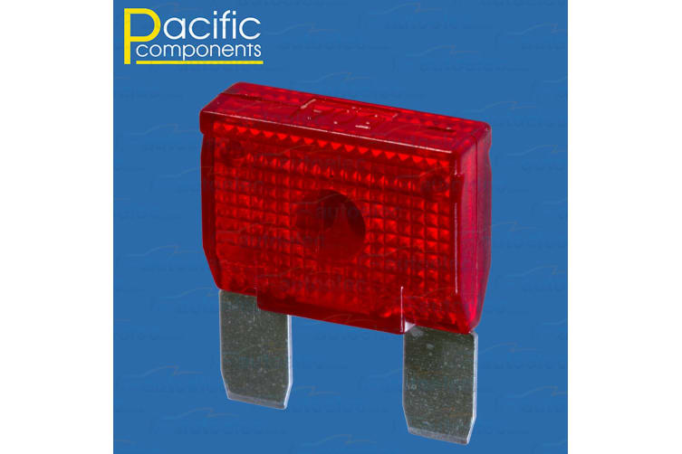 1 X 50A AMP MAXI BLADE WEDGE FUSE 12V VOLT 24V ELECTRICAL DUAL BATTERY RED MAX50