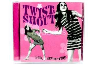 Twist and Shout:  A 60's Revolution. BRAND NEW SEALED MUSIC ALBUM CD - AU STOCK
