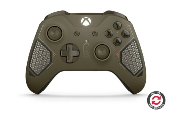 Xbox One Wireless Controller (Combat Tech Special Edition, Microsoft Certified Refurbished)