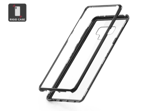 Samsung Note 9 Aluminum Magnetic Phone Case - Clear