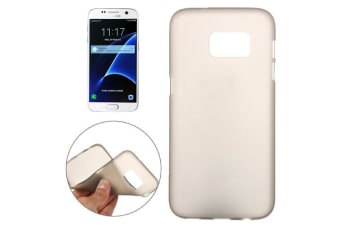 For Samsung Galaxy S7 Case  Frosted High-Quality Shielding Cover Grey