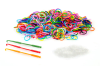 1200 Pack Loom Bands Multicolour