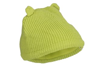 Trespass Childrens/Kids Toot Knitted Winter Beanie Hat (Kiwi)