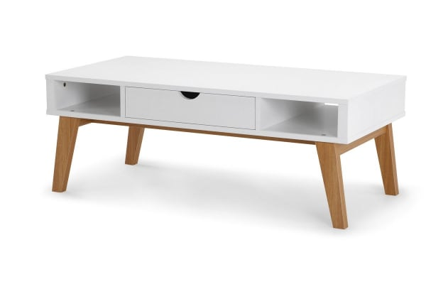Ovela Scandinavian Style Coffee Table (White)