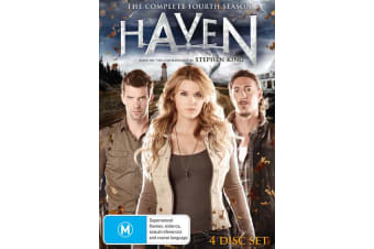 Haven The Complete Fourth Season 4 Box Set DVD Region 4