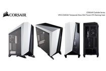 Corsair Carbide SPEC-OMEGA Mid-Tower Tempered Glass Gaming Case, Black and White PR embargo / Official Announcement Date 09-JAN-2018