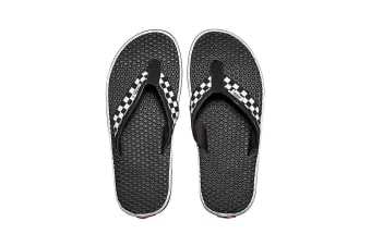 Vans Men's La Costa Lite Sandal (Black/White, Size 7 US)
