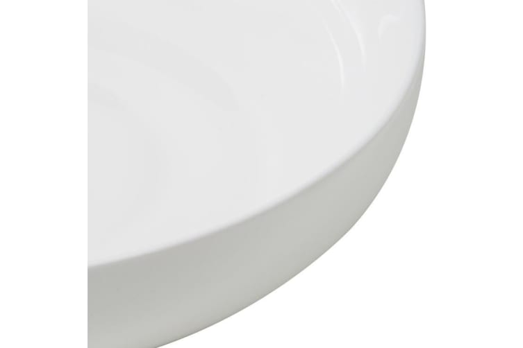 Kitchen Warehouse Windsor Coupe Shallow Serving Bowl 35x10cm