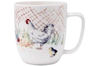Ashdene Country Chickens The Pen Mug 350ml